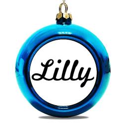 Julgranskula Blå Lilly