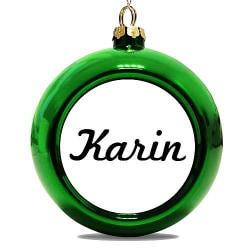 Julgranskula Grön Karin