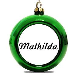 Julgranskula Grön Mathilda