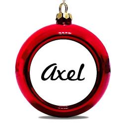 Julgranskula Röd Axel