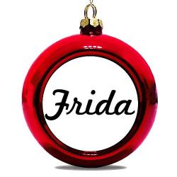 Julgranskula Röd Frida
