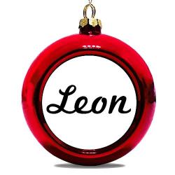 Julgranskula Röd Leon