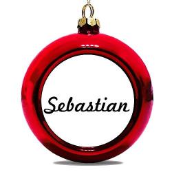 Julgranskula Röd Sebastian