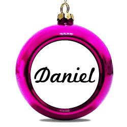 Julgranskula Rosa Daniel