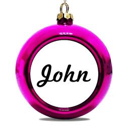 Julgranskula Rosa John
