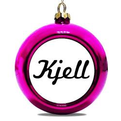 Julgranskula Rosa Kjell