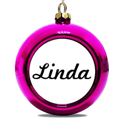 Julgranskula Rosa Linda
