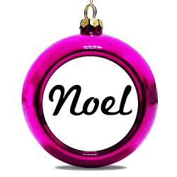 Julgranskula Rosa Noel