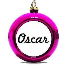 Julgranskula Rosa Oscar