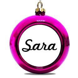 Julgranskula Rosa Sara