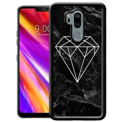 LG G7 ThinQ Mobilskal Marmor Diamant