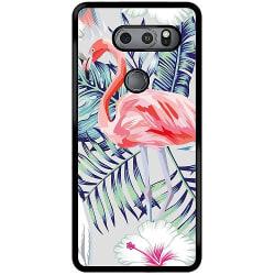 LG V30S ThinQ Mobilskal Flamingo
