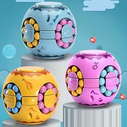 Magic Beans Roterande Sensorisk Leksak Fidget - Rosa