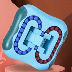Magic Beans Roterande Sensorisk Leksak Fidget - Ljusblå Slim