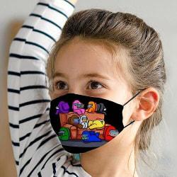 Munskydd med Filter för Barn - Among Us