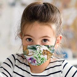 Munskydd med Filter för Barn - Djungel