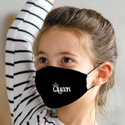 Munskydd med Filter för Barn - Queen