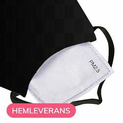 Munskydd, Tvättbar Skyddsmask med Filter - Catch The Hearts