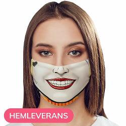 Munskydd, Tvättbar Skyddsmask med Filter - Fashion