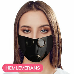 Munskydd, Tvättbar Skyddsmask med Filter - Gas Mask