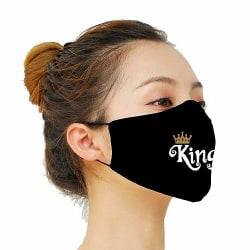 Munskydd, Tvättbar Skyddsmask med Filter - King