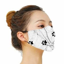 Munskydd, Tvättbar Skyddsmask med Filter - Marmor Tassar