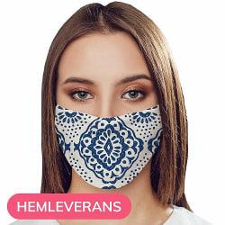 Munskydd, Tvättbar Skyddsmask med Filter - Mossi