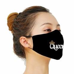 Munskydd, Tvättbar Skyddsmask med Filter - Queen