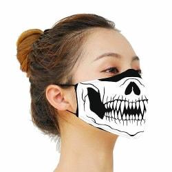 Munskydd, Tvättbar Skyddsmask med Filter - Smile