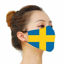 Munskydd, Tvättbar Skyddsmask med Filter - Sweden