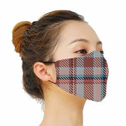 Munskydd, Tvättbar Skyddsmask med Filter - Vivid Velvet