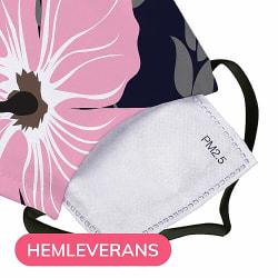 Munskydd, Tvättbar Skyddsmask med Filter - Went Hiking