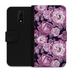 OnePlus 6T Wallet Case Blommor