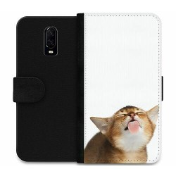 OnePlus 6T Wallet Case Cat Keeps You Clean