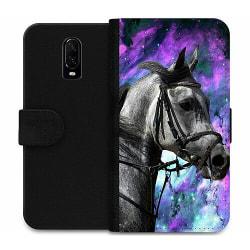 OnePlus 6T Wallet Case Häst