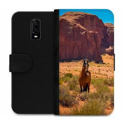 OnePlus 6T Wallet Case Häst / Horse