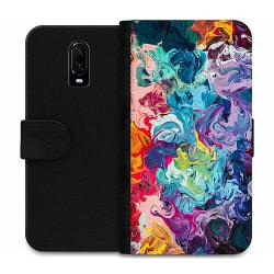 OnePlus 6T Wallet Case Wild Colours