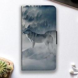 Huawei P40 Lite E Fodralskal Wolf / Varg