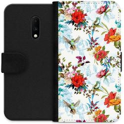 OnePlus 7 Wallet Case Blommor