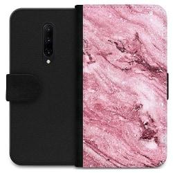 OnePlus 7 Pro Wallet Case Glitter Marble