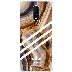 OnePlus 7 Vitt Mobilskal Fashion