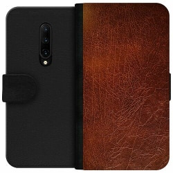 OnePlus 7T Pro Wallet Case Leather