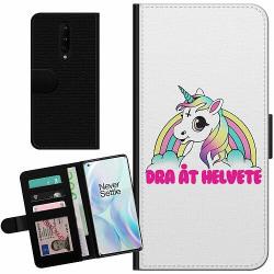 OnePlus 8 Billigt Fodral Unicorn Dra åt Helvete