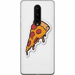 OnePlus 8 Mjukt skal - Pizza Slice