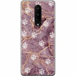 OnePlus 8 Mjukt skal - Purple Rain PAW
