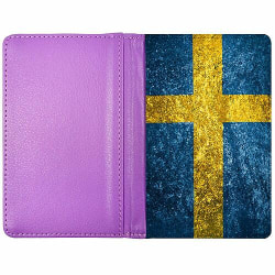 Passfodral Lila - Sverige