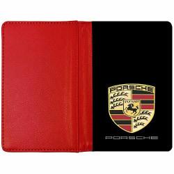 Passfodral Röd - Porsche