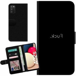 Samsung Galaxy A02s Billigt Fodral >FUCK<