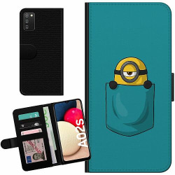 Samsung Galaxy A02s Billigt Fodral Pocket Minion