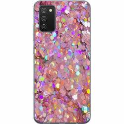 Samsung Galaxy A02s Mjukt skal - Glitter